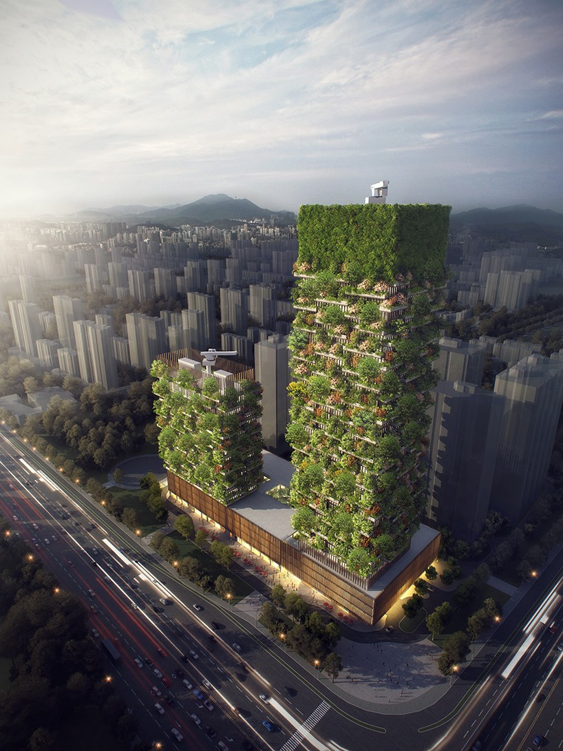 Boeri vertical forest China