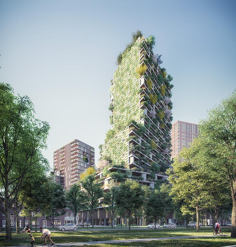 Boeri vertical forest Utrecht